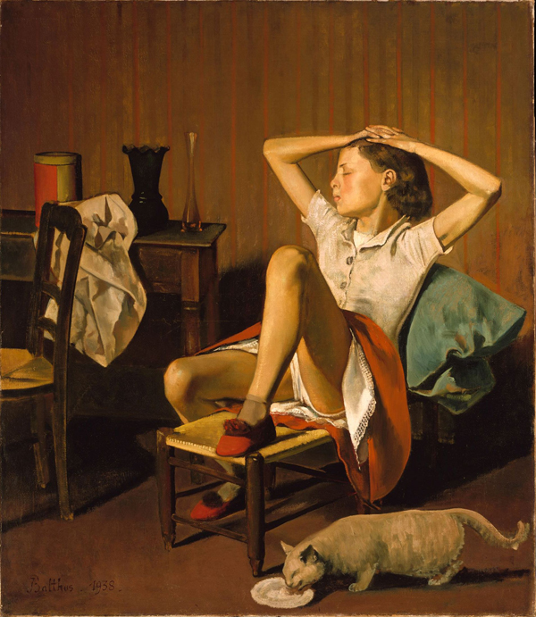 'Thérèse Dreaming' by Balthus, 1938.