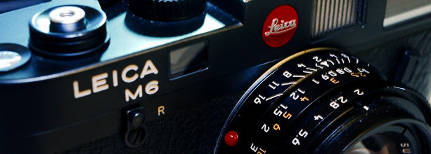 The courtship of a Leica